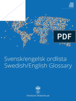 Swedish-English dictionary 2019