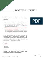 CCNA1 V5.1 Capítulo 2 Examen Español