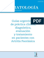 Guia SAR Artritis Psoriasica