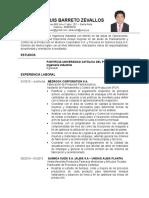 CV - Elkar Barreto Zevallos