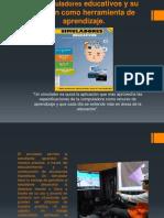 Los simuladores educativos y su función como herramienta