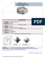 Ficha Identificação Mineral