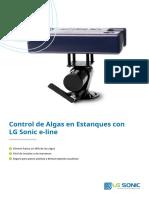 LG Sonic e-line catálogo