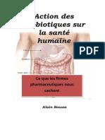 Action des probiotiques sur la santé humaine