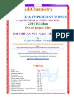 CSIR_UGC_NET_GATE_SET_important