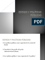 estado y políticas públicas
