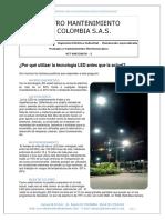 BROCHURE ILUMINACION LED EMEC SAS