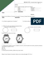 REPASO T5 Tiempo y Dinero Actividades