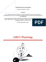 LSB231.5 Muscle Tissue Physiology Student Version Slides