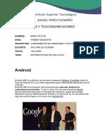 Presentacion del Sistema Operativo Android-x86