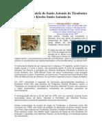 O órgão da Matriz de Santo Antonio de Tiradentes
