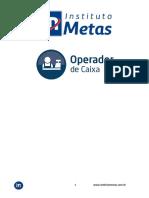 OPERADOR DE CAIXA Instituto Metas