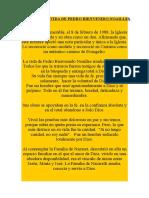 Nº 8.Sintesis de La Vida de Pedro Bienvenido Noailles