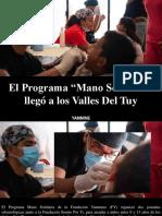 """Yammine - El Programa """"Mano Solidaria"""" Llegó a Los Valles Del Tuy"""