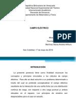 Diapositiva Campo Electrico
