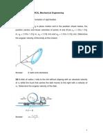 sheet 7 mechanics