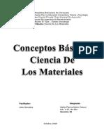 Asignación 1 -Ciencia De Los Materiales