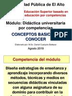CONCEPTOS EDUCACION PEDAGOGIA DIDACTIVA Y PEA - DIPLOMADO