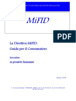 Consumer Guide MIFID