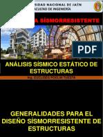 02. GENERALIDADES PARA EL DISEÑO SISMORRESISTENTE (INGENIERIA SISMORRESISTENTE (UNJ 2019-2).pdf