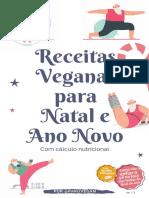 Receitas Veganas para Natal e Ano Novo por ParuVegan