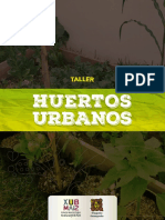 Taller Huertos Urbanos