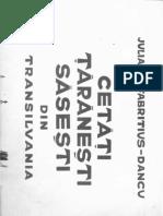 Introduce Re, Lexicon, Sumar_Cetati Taranesti Sasesti Din Transilvania