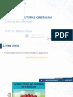 Aula 03 a- Estruturas cristalina - Ciências dos Materiais- - Unifacs -.pptx