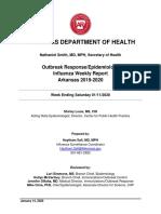 Weekly Influenza Report Week Ending Saturday January 11 2020