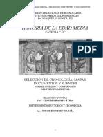 Claudio Rafael Avila y Jorge Rigueiro (2016). La Edad Media. Seleccion de Cronologia, Mapas, Documentos y Fuentes Para El Analisis y Comp (..)