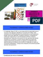 PROCESOS DE ARRANQUE DE MATERIALES SEMANA 15-SESION 1 y 2