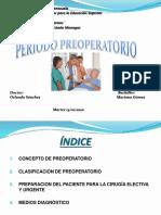 PERIODO PREOPERATORIO 1.