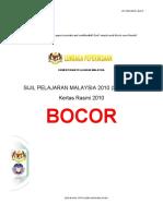 Sijil Peperiksaan Malaysia 2010 (SPM 2010) Bocor_AngNetwork
