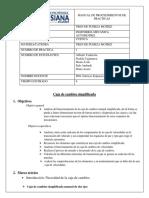 INFORME CAJAS DE CAMBIO DE 2 EJES