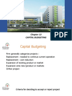 Chapter 13 Capital Budgeting