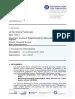 2211567_JobdescriptionandPersonspecification