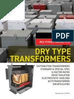 Rex Distribution Transformer Catalog 2019 (6 19 2019) Regular