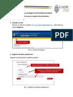 Guía para el registro de estudiantes de Movilidad_v1.2.0