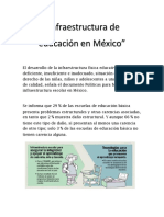 Infraestructura Educativa en Mexico