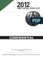 2012 SWR Pricelist