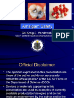 Amalgam Safety