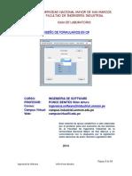Diseño de Formulario en C#