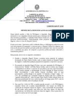 MB - Comunicado 12-XI - Mendes Bota Responde Ao PS-Algarve