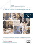 [Department for Education and Skills (2004)] a Framework for Understanding Dyslexia