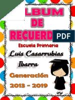 1.- ALBUM DE RECUERDOS 2018 - 2019