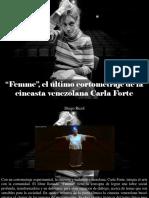 "Diego Ricol - ""Femme"", El Ultimo Cortometraje de La Cineasta Venezolana Carla Forte"
