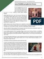 Siddhartha Gautama Buddha prophecies Jesus - Chinese Buddhist Encyclopedia