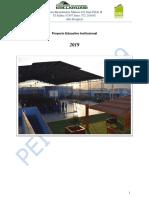 Proyecto Educativo Institucional Colegio Misterio