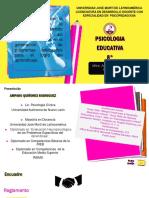 PRESENTACION PSICOLOGIA EDUCATIVA