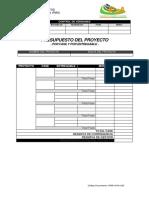 FGPR-ICYA-020 Ver B Presupuesto del Proyecto por fase y por entregable